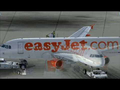 from Amsterdam to Paris (easyJet)