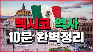 [10분상식 세계백과] 멕시코 1부: 역사, 아즈텍문명, 멕시코혁명, 정치