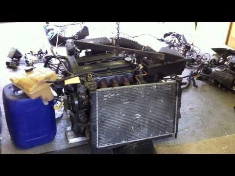 Zetec Engine First Firing