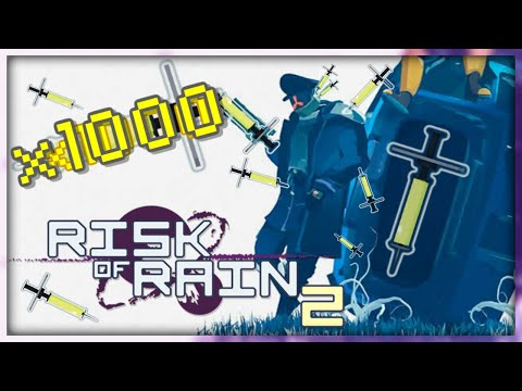 x1000 Syringes On Captain! (+Some Other Items Bonus) | Risk Of Rain 2 |