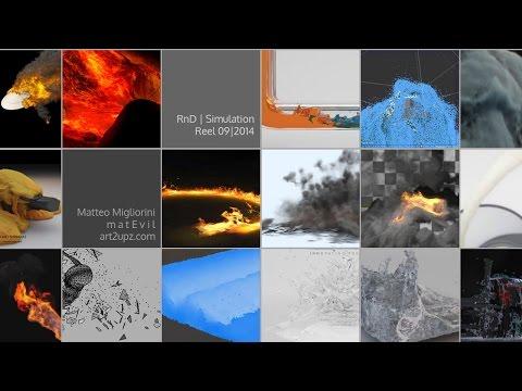 Matteo Migliorini - RnD   Simulation Reel 09/2014