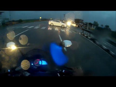 ABS - Anti Lock Braking System Saved my Life  | Close call | Heavy Rain | Pulsar Rs200 | NH7