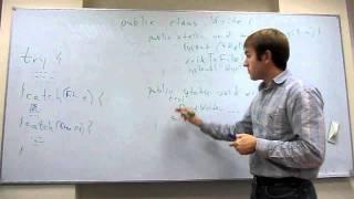 Урок 9 - Exceptions - Java для тестировщиков