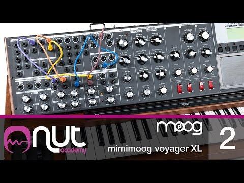 Minimoog Voyager XL Tutorial pt 2/2 con Enrico Cosimi @ Nut Academy