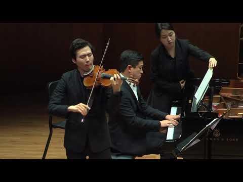 Hyun woong Lee - J.Brahms, Violin Sonata No.3 in d minor, Op.108 (이현웅 바이올린 독주회)
