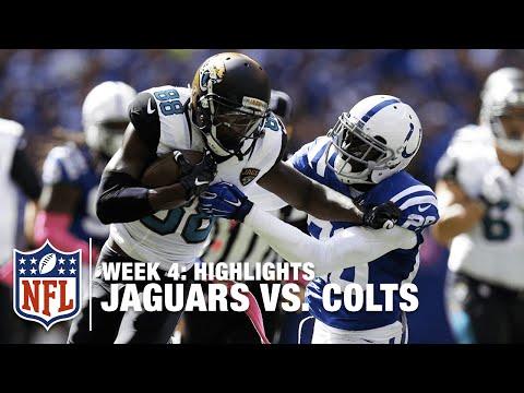 Jaguars vs. Colts   Week 4 Highlights   NFL