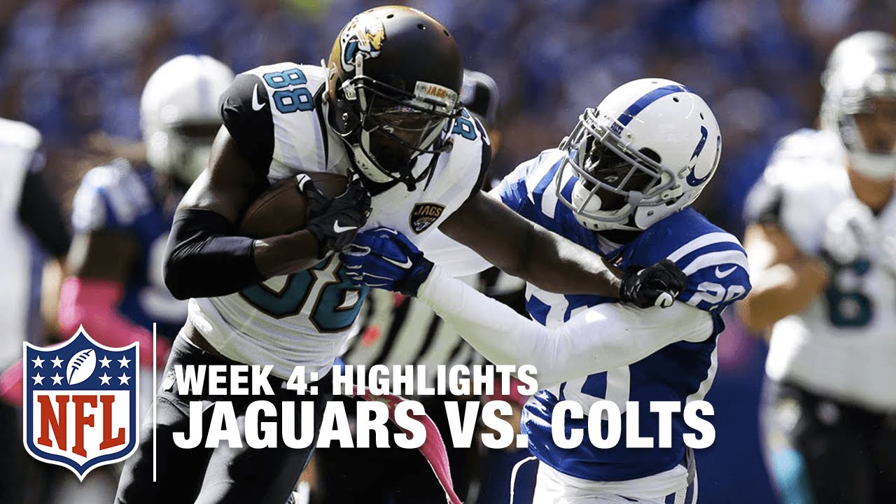 Superior Jaguars Vs. Colts | Week 4 Highlights | NFL   YouTube