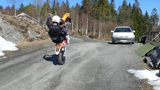 Mattias Wall Enduro playday wheelies and more