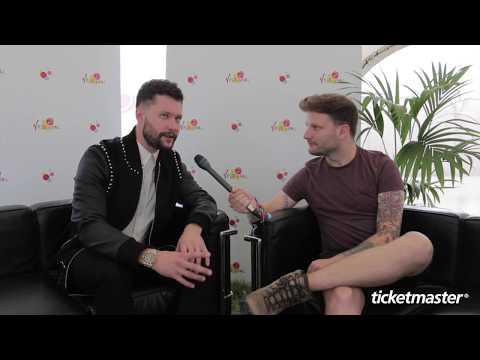 Interview: Calum Scott @ V Festival 2017