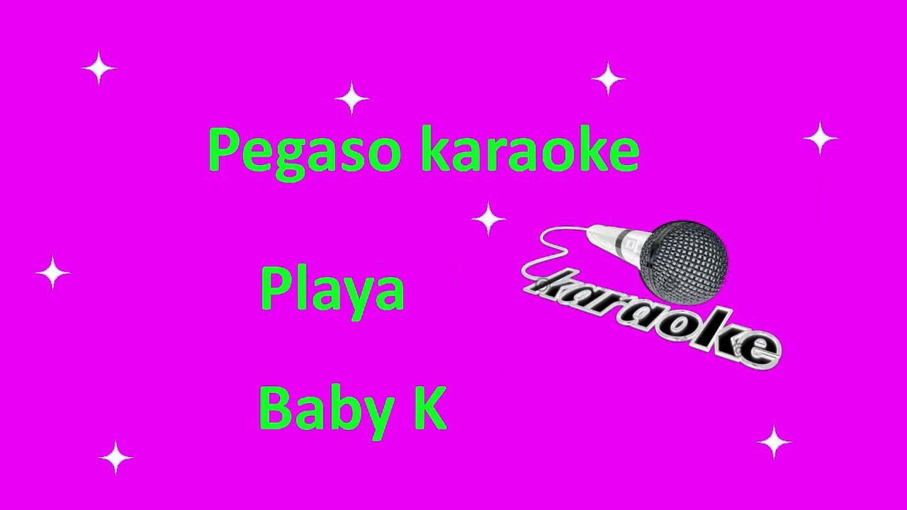 karaoke Playa Baby K - YouTube