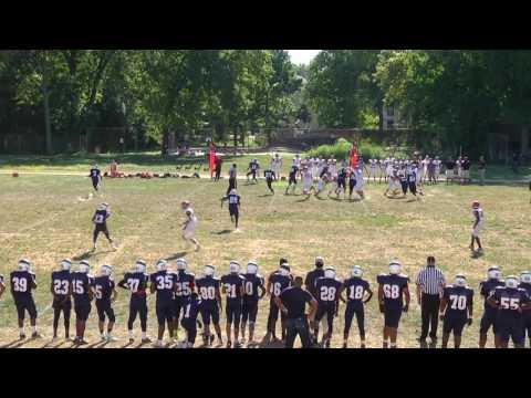 kamal Gray QB freshman starting JV highlights 2016