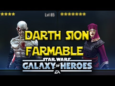Darth Sion Farmable SHIPS 2.0 Update! - Star Wars: Galaxy Of Heroes - SWGOH