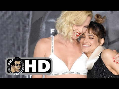 Charlize Theron & Sofia Boutella at the ATOMIC BLONDE Berlin Premiere