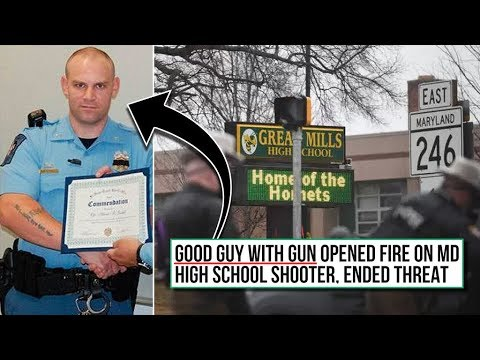 Rural Maryland School Shooter Stopped By Armed School Resource Officer (REACTION)