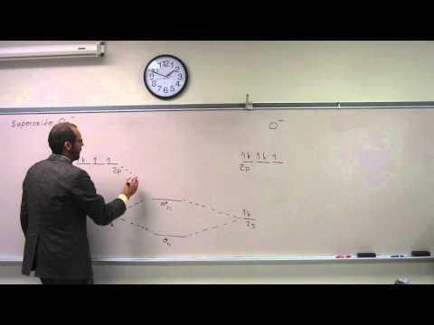 Molecular Orbital Theory - Build Superoxide O2-