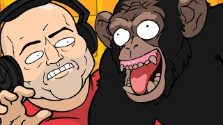 Joe Rogan Interviews a Chimp