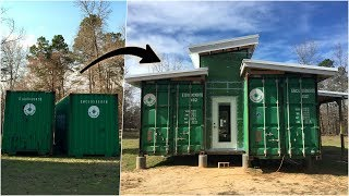 Timelapse: One Year Building Our Off Grid Home!