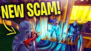 * NUEVA SCAM * Caminar a través de las paredes SCAM ACTUALIZADO CUIDADO! Scammer se expone en Fortnite Save The World
