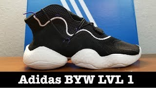 Adidas BYW LVL 1 - Boost You Wear Review-Compare Boost with Ultra Boost