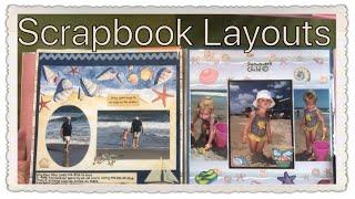 Scrapbook Layouts ✂️