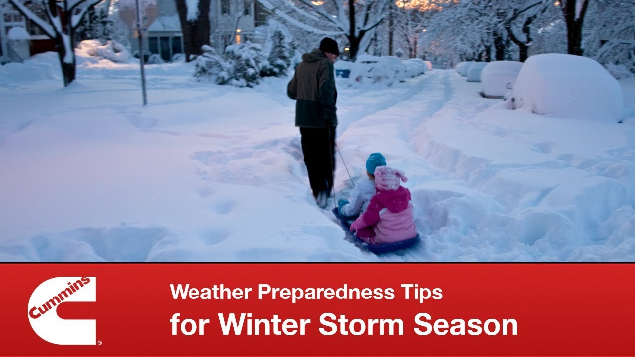 Cummins Weather Preparedness Tips for Winter Storm Season