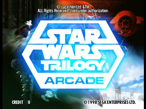 star wars trilogy arcade 1998 -2016 RETURNING TO THE 90$ arcades supermodel emulator 3.0a 60fps