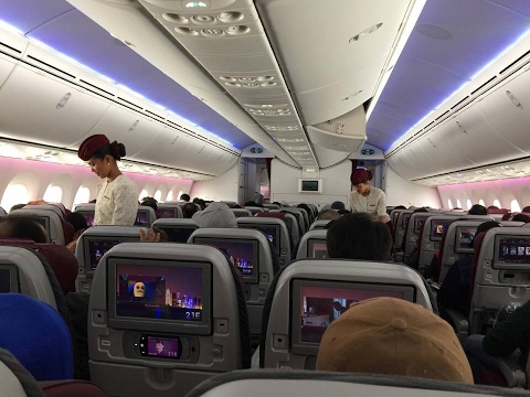 Clark to Doha | Cabin Crew Life | My 1st day in Doha, Qatar