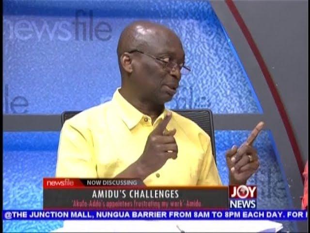 Amidu's Challenges - Newsfile on JoyNews (29-9-18)