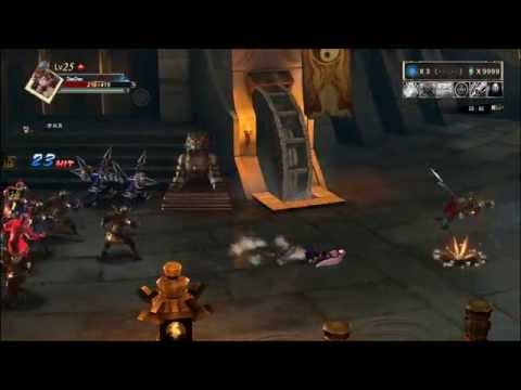 PS4 Knights of Valour Demo Gameplay