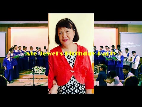 Jewel's Birthday & Farewell Party by Doha Church Choir Membe