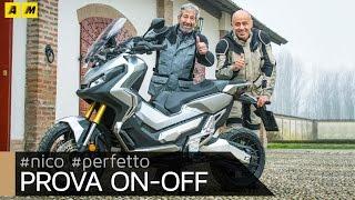 Honda X-ADV. La prova di Nico Cereghini e Perfetto [ENGLISH SUB]