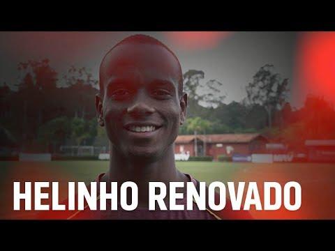 Mais um da base! São Paulo renova com Helinho até 2023