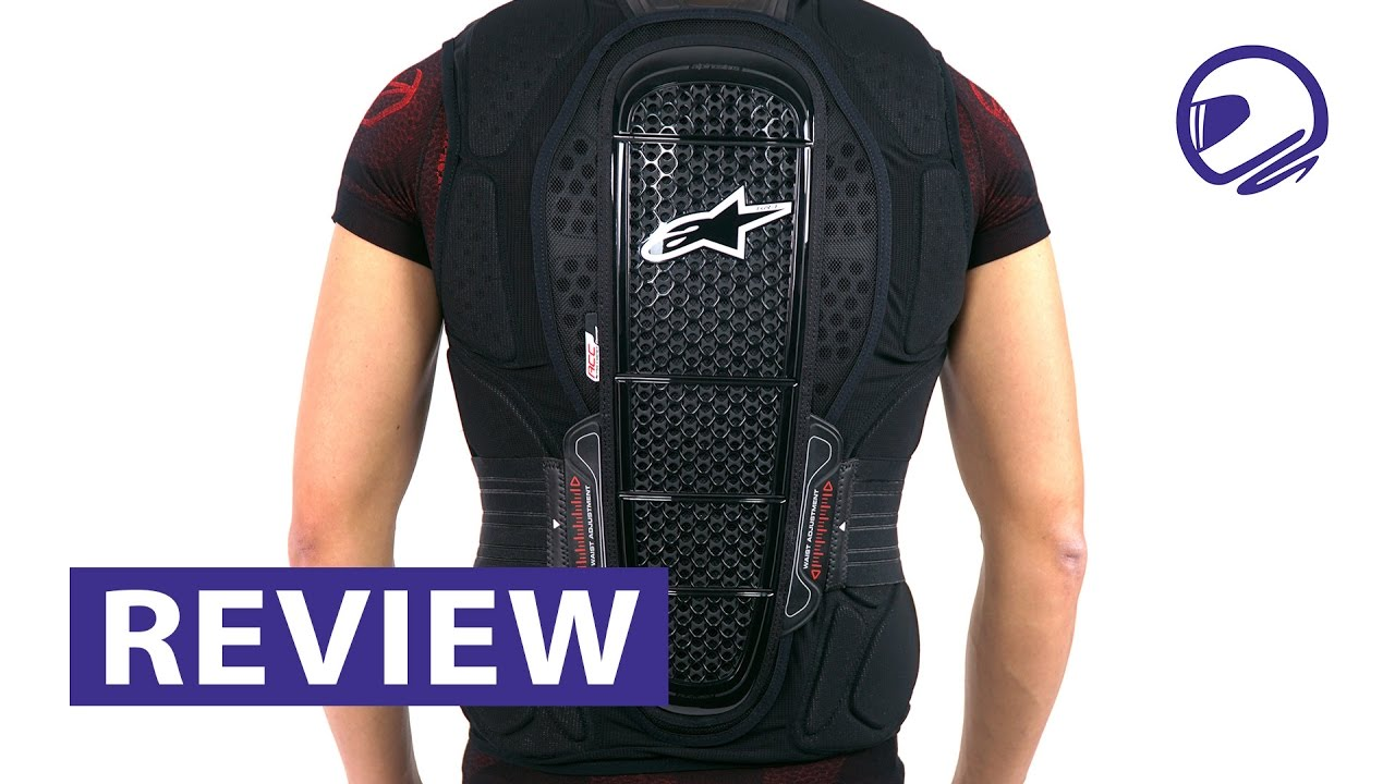 Alpinestars Jacket Leather >> Alpinestars Track Vest 2 bodyprotector review - MotorKledingCenter - YouTube
