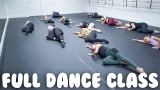 Contemporary Dance Class I Stretch & Routine