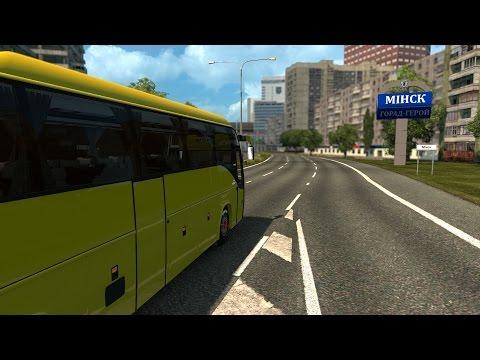 Киев - Минск. Автобусный рейс   Euro Tuck Simulator 2