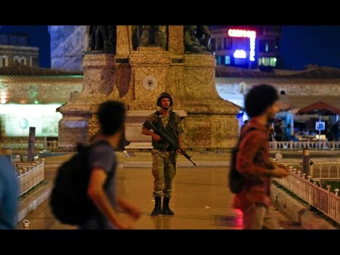 BREAKING NEWS TURKEY IN CHAOS! COUP BY MILITARY OUSTS ERDOGAN!