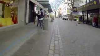 Blaue Linie Kiel Holstenstraße Leitlinie Touristen Touristinformation