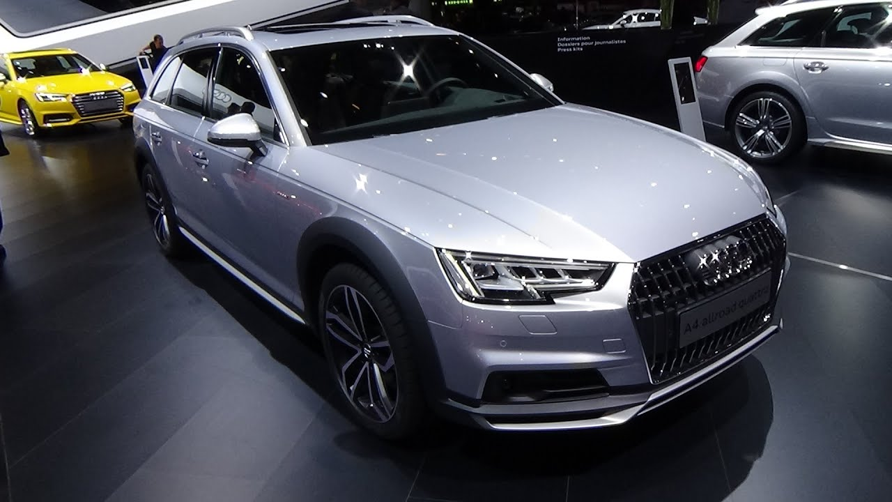 2017 audi a4 allroad quattro exterior and interior geneva motor show 2016 youtube