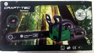 Обзор бензопилы CRAFT-TEC CT-5000(Крафтек)(Обзор бензопилы Craft-tec(Крафтек) В этом видео мы посмотрим на бензопилу Craft-tec , рассмотрим ее комплектацию..., 2015-09-20T12:28:41.000Z)
