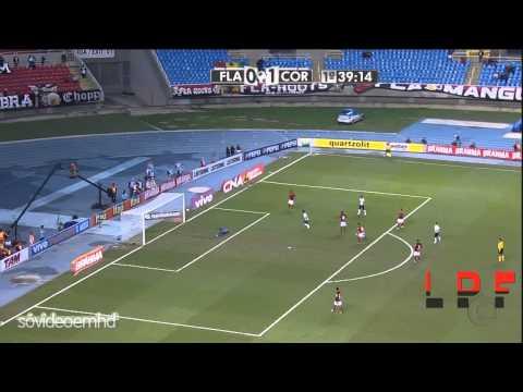 Flamengo 0 x 3 Corinthians [Gols Campeonato Brasileiro] - 2012