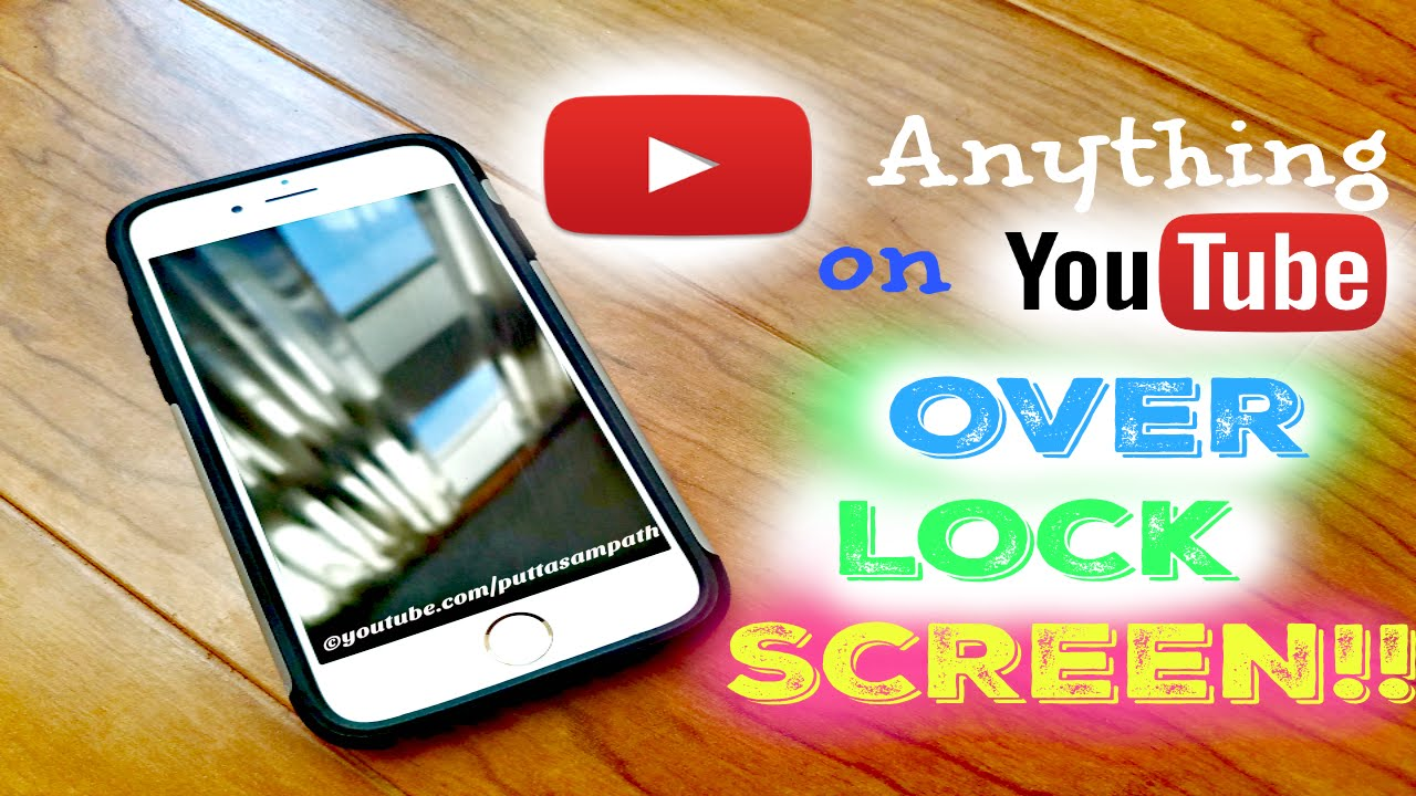 How to make youtube play when iphone is locked