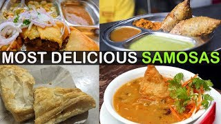 MOST DELICIOUS & UNIQUE Samosas In Mumbai You HAVE TO TRY |  MOUTH-WATERING