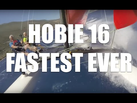 Hobie 16 Fastest Ever!