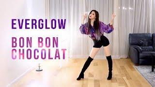 EVERGLOW (에버글로우) - Bon Bon Chocolat (봉봉쇼콜라) Dance Cover   Ellen and Brian