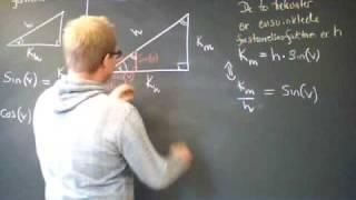 Repeat youtube video Bevis cos sin retvinklet trekant