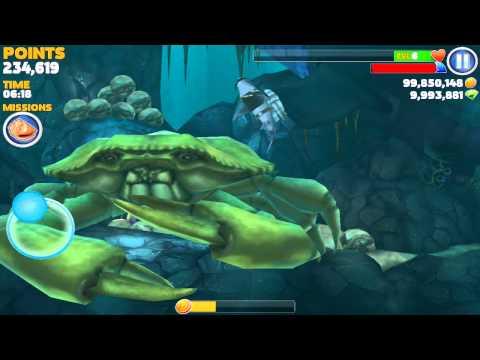 Hungry shark evolution megalodon vs giant crab - photo#20