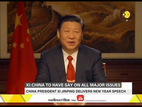 Chinese President Xi Jinping delivers New Year speech