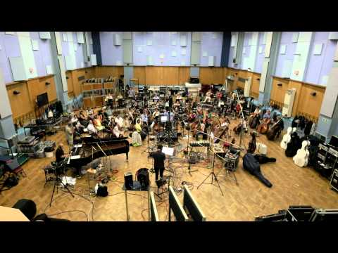Kolsimcha and London Symphony Orchestra recording Autostrada at Abbey Road Studio 1