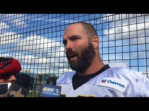 Max Unger says Saints linemen looking to continue good play against Miami