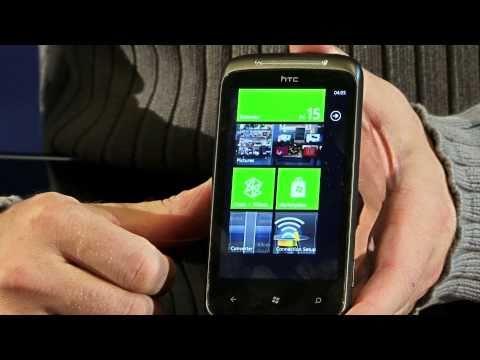 HTC Mozart. Первая ласточка на WP7